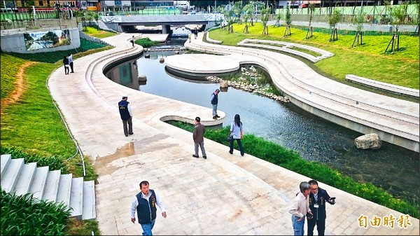 媲美韓國清溪川,中市柳川將成新亮點。(記者楊政郡攝)