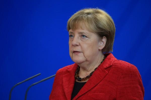 德國總理梅克爾提醒川普,美國總統的責任遠超過美國的國界。(彭博)