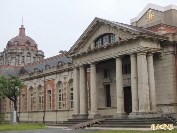 舊台南地院─司法博物館上週甫揭幕啟用。(資料照,記者洪瑞琴攝)