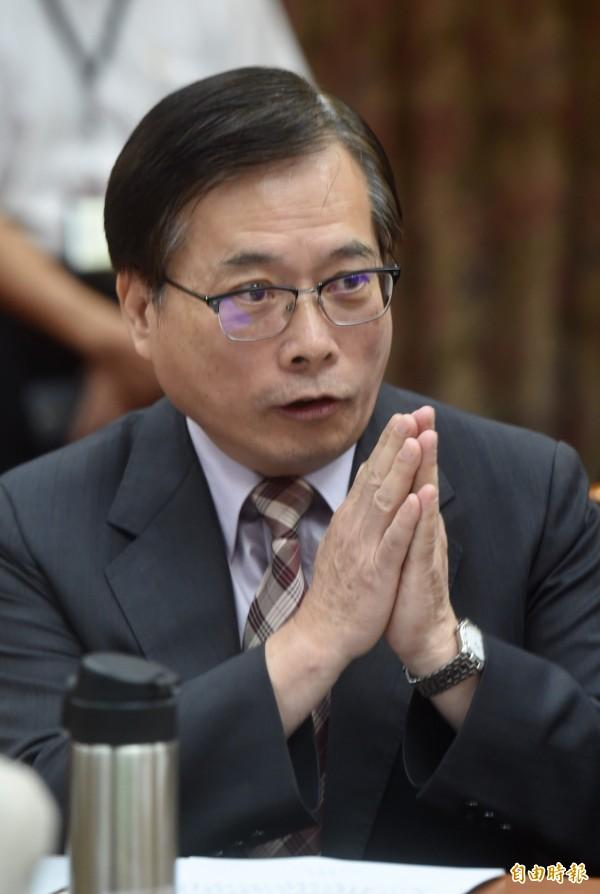 勞動部長郭芳煜立院列席備詢。(記者簡榮豐攝)