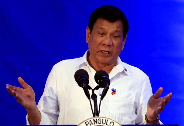 菲律賓總統杜特蒂談到美國總統當選人川普及俄羅斯總統普廷時,言論相當樂觀。(路透)