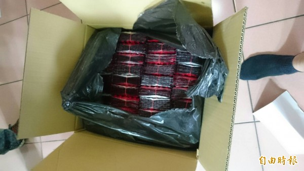 嫌犯化整為零郵寄包裹方式,郵寄一粒眠毒品到泰國。(記者楊政郡攝)