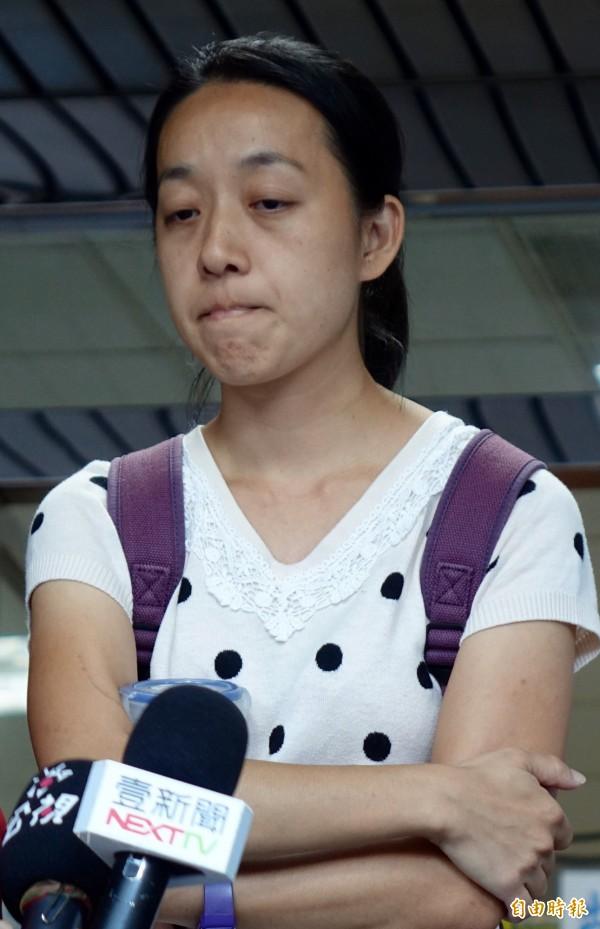 小燈泡的媽媽王婉諭被以「犯罪被害人家屬」身分,受邀擔任「司法改革國是會議」籌備委員。(資料照,記者簡榮豐攝)