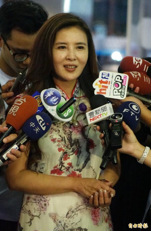 國民黨台北市議員王欣儀批評「小燈泡」母親王婉諭,隨即遭到網友譙爆。(資料照,記者張嘉明攝)