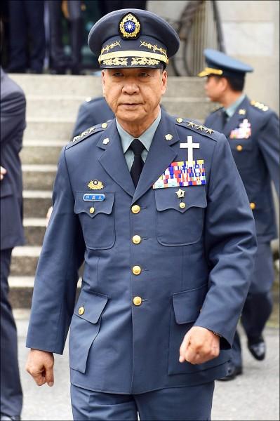 陸軍司令邱國正將接參謀總長。(資料照)