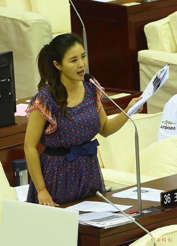 國民黨北市議員王欣儀。(資料照,記者張凱翔攝)