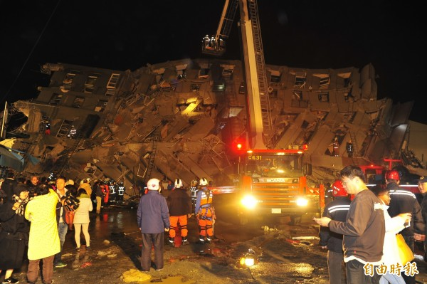 維冠大樓倒塌案是國內單一倒塌建築物死傷最多的案例。(資料照,記者王捷攝)