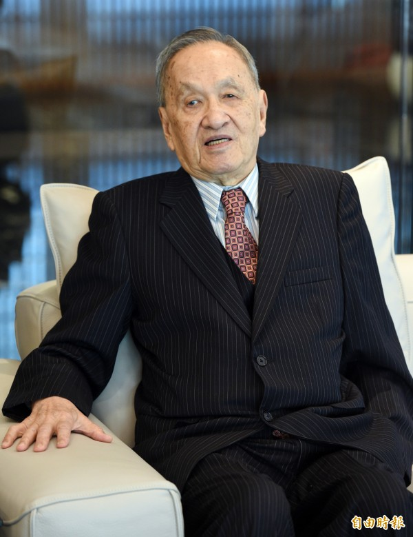 彭明敏今天發表聲明,以年事已高為由,表示不接受總統府資政一職。(資料照,記者羅沛德攝)