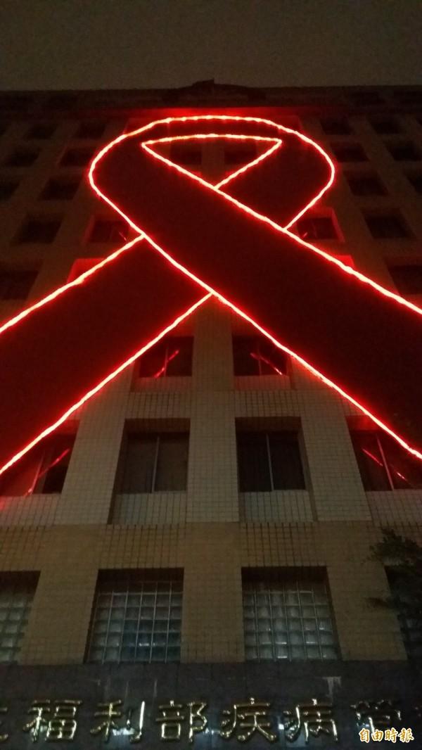 衛福部疾管署今嚴正表示:「該署未曾於上述時間於任何媒體刊載愛滋相關廣告」。(資料照,記者林惠琴攝)
