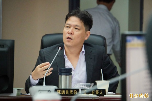民政局主政的參與式預算遭新黨市議員陳彥伯砲轟流程設計不當,陷民代於不義。(記者張凱翔攝)