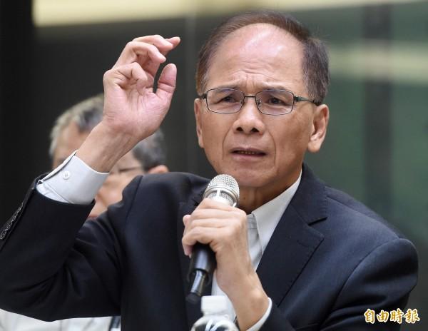 游錫堃則表示,這是台灣歷史上的第一次,也有助於台灣「國際能見度」的提升。(資料照,記者廖振輝攝)