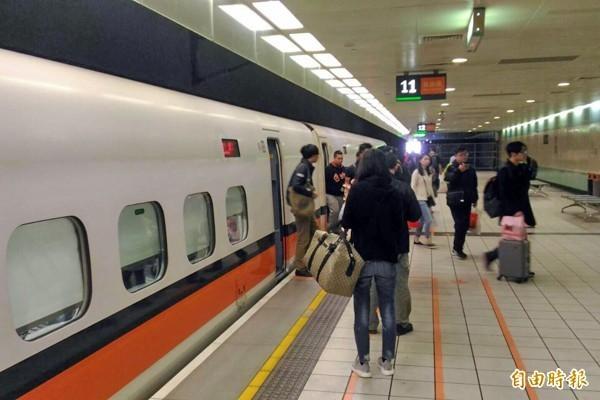 台灣高鐵傳出要員工罰寫。(資料照,記者李容萍攝)