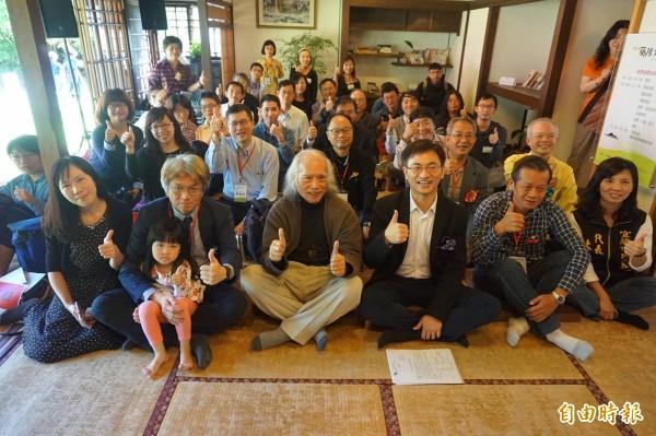 第七屆蘭陽文學獎今日舉行版獎典禮。(記者林敬倫攝)