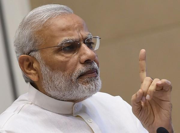 印度總理莫迪榮獲「時代雜誌」2016年度風雲人物網路票選第一名。(法新社)