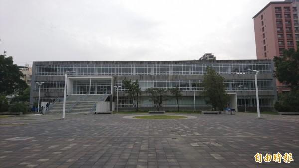 原台灣省立成功大學總圖書館。(記者劉婉君攝)