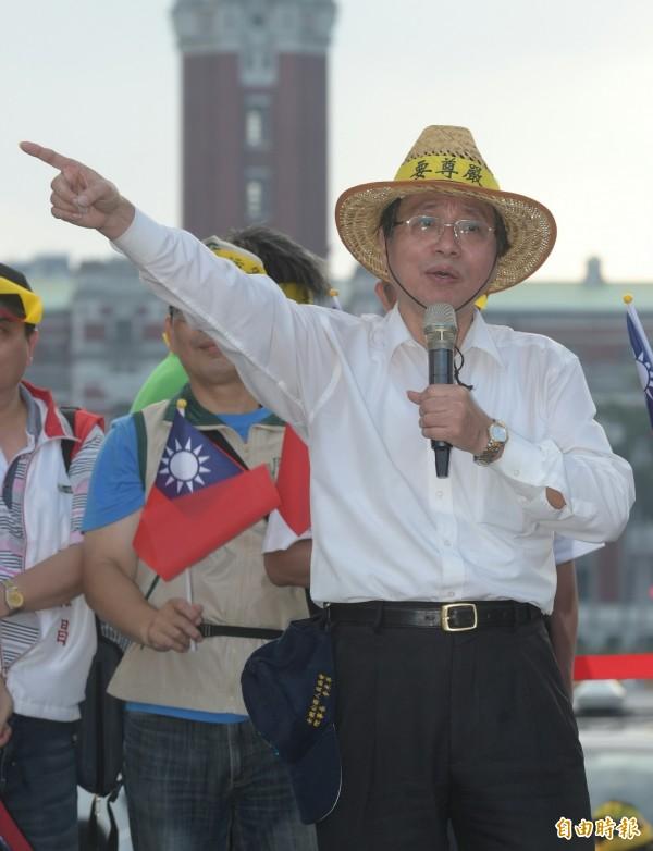 考試院副院長高永光辭職,全國公務人員協會理事長李來希批評有政治黑手介入。(資料照,記者張嘉明攝)