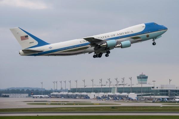 目前的空軍一號專機是波音747-200型飛機。(歐新社)