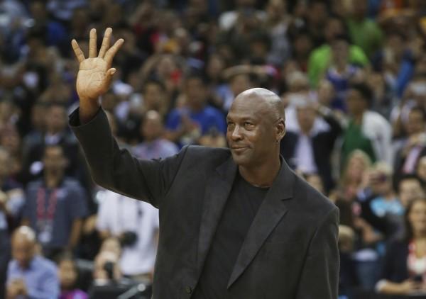 籃球大帝麥可喬丹(Michael Jordan)在2012年控告中國「喬丹體育」(QiaoDan)侵權,如今終獲中國最高法院判決勝訴。(美聯社)