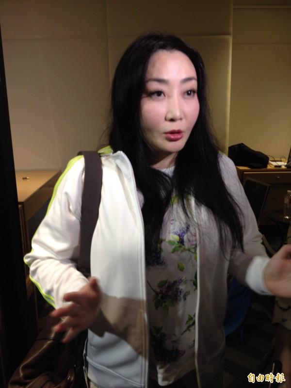 瘋狂粉絲Yuki詆毀老蕭,法院判賠百萬登報道歉。圖為Yuki蔭山友紀。(資料照,記者陳慧玲攝)