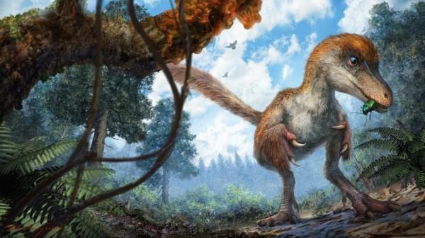 伊娃恐龍想像圖。(圖擷自《華盛頓郵報》)