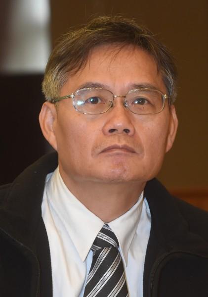 淡江大學國際事務與戰略研究所所長翁明賢。(記者劉信德攝)