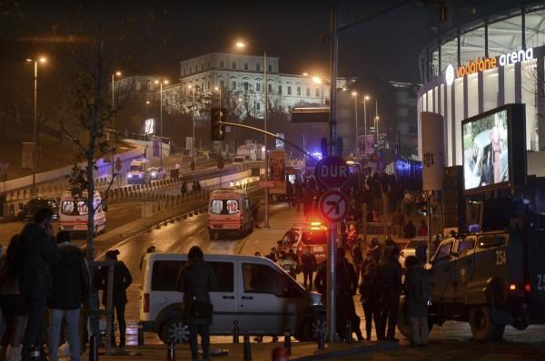 土耳其總理阿斯蘭(Ahmet Arslan)在推特上稱這起炸彈事件為恐怖攻擊。(美聯社)