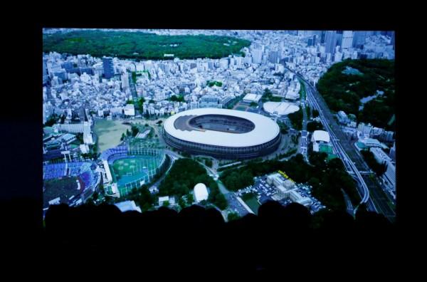 2020東京奧運主場館新國立競技場預計在2019年11月完工。(路透)