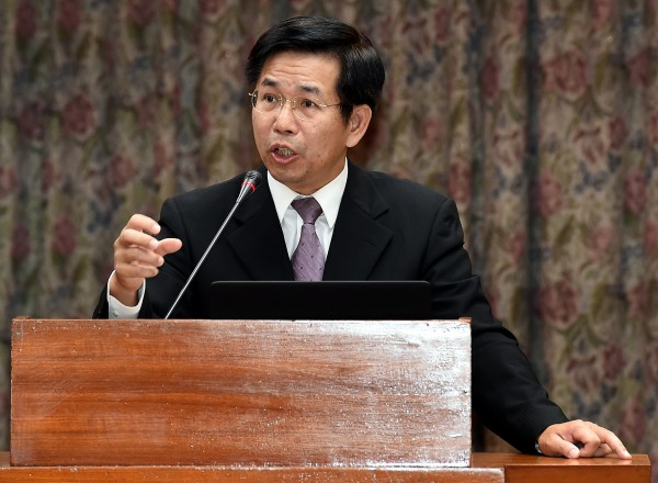 教育部長潘文忠(記者朱沛雄攝)
