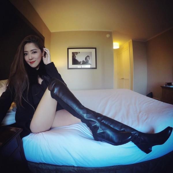 Ticha Louktarn常常放上自己的生活照。(圖擷取自Instagram)