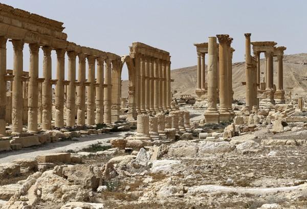 帕邁拉除了是古城,更是通往敘利亞首都大馬士革及伊拉克的主要幹道。(美聯社)