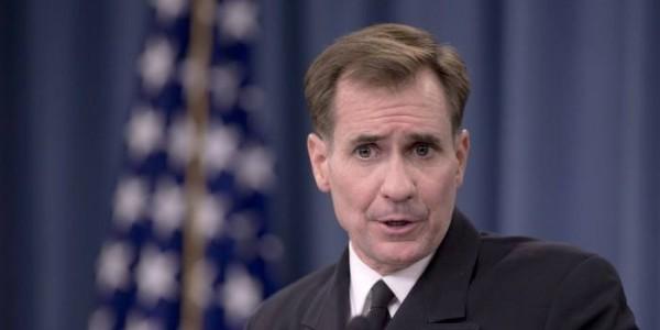 美國國務院發言人約翰·柯比對俄國的指責表示,並沒有放鬆停火的行動,仍會繼續支持敘利亞聯軍收復失土。(美聯社)