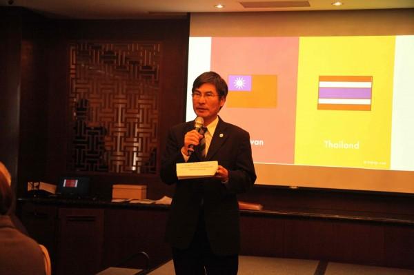 泰國高教署首率33所大學來台,教育部政次陳良基表達歡迎,且將加強台泰高教合作。(圖由教育部提供)