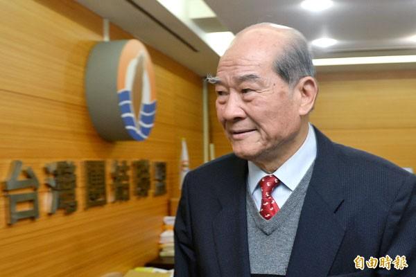 台聯黨前黨主席黃昆輝今天將成立「財團法人黃昆輝教授教育基金會」。(本報資料照)