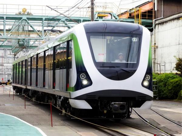 屯區捷運將與捷運綠線形成環狀路網,圖為捷運綠線車廂。(台中市政府提供)
