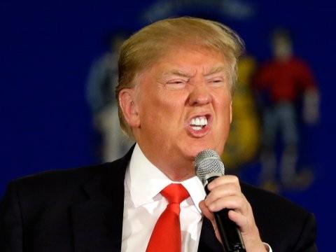 川普今於推特發文,強調「美國需全力加強核武能力,直到世界對此醒悟為止」。(美聯社)