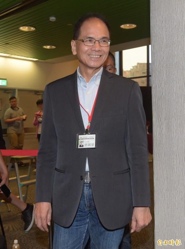 游錫堃將擔任台灣代表團團長,參加川普就職典禮。(資料照,記者黃耀徵攝)