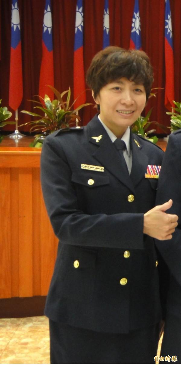 新北市警婦幼隊長蔡淑琳。(資料照,記者吳仁捷攝)
