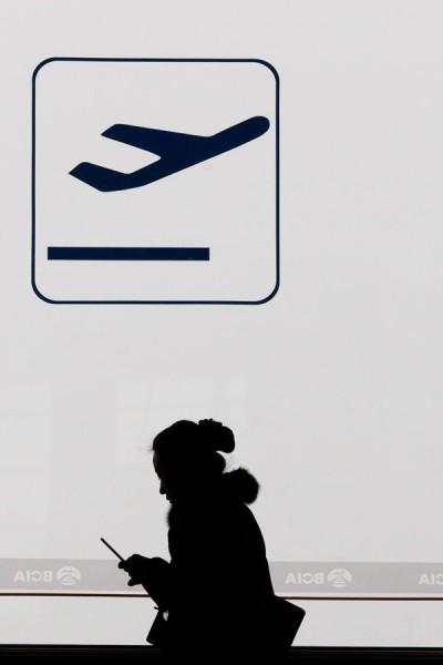 因應國人春節返鄉及旅遊需求,航空公司已針對目前需求較高之金門及澎湖航線再規劃第二波加班機。(法新社)