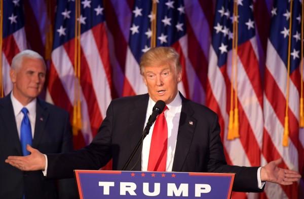 在歐巴馬對俄羅斯行使相當嚴厲的外交制裁後,即將上任的準美國總統川普也發表聲明,強調選舉已結束,美國是時候該往前走了。(法新社)