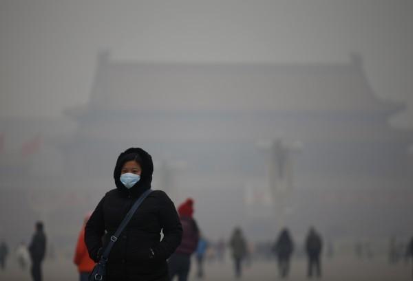 中國多省份霧霾現象嚴重,空氣品質嚴重不良。(路透)