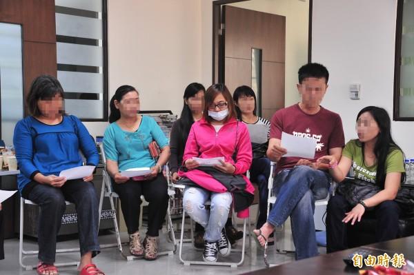 家長不滿學校老師情緒化對待學生。(記者蔡宗憲攝)