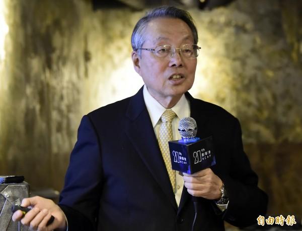 宏碁集團創辦人施振榮上月卸任國藝會董事長。 (資料照)