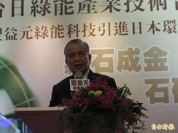 工業區廠商聯合總會理事長秦嘉鴻。(資料照)