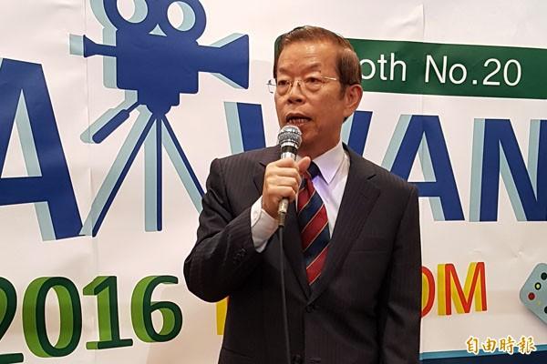 駐日代表謝長廷指示,今後駐日代表處職員對外可以稱「台灣駐日代表處」,讓日本人比較清楚一些。(資料照/記者吳志偉攝)