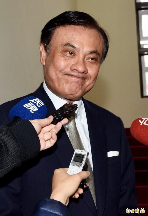 媒體報導立法院長蘇嘉全不想只敲議事槌,還想當閣揆。(資料照,記者羅沛德攝)