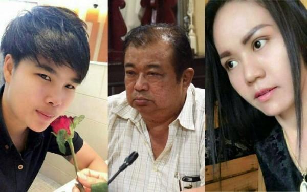 警察局長(中)愛上餐廳女歌手(右)將波撒桑殺害。(圖取自網路)