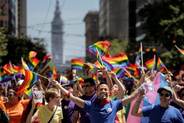 美國同性戀人數突破千萬。(路透)