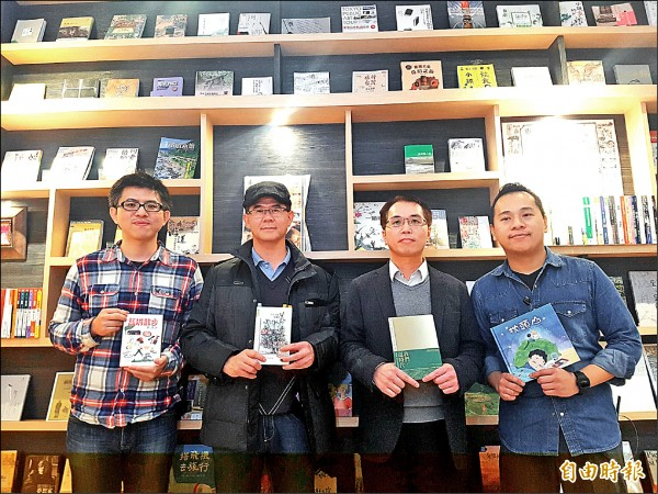 結合勁行文創、Stay旅人書店、HaoHaoKaffe和行口文旅,打造宜蘭文創新據點。(記者簡惠茹攝)