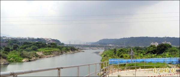 大溪區月眉休閒農業區位於大漢溪畔。(記者李容萍攝)