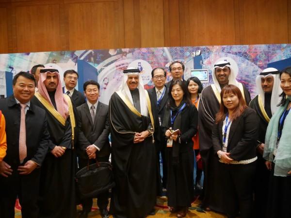 科威特官員與我國代表團合照。(中華台北著作權人協會提供)